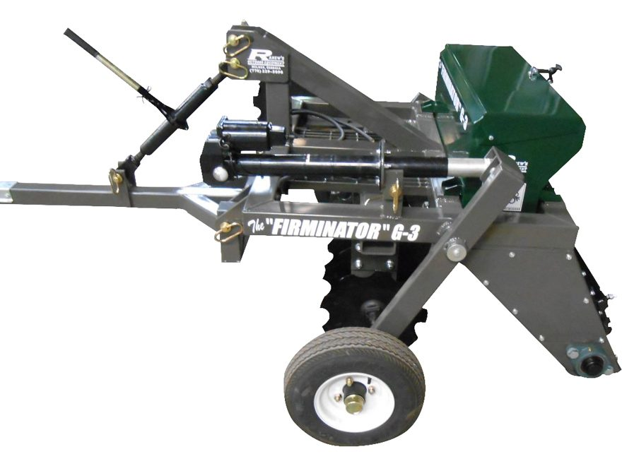 "Ranew's Outdoor Equipment 3' Firminator G-3 ATV/UTV Food Plot Implement with 9"" Cultipa..."