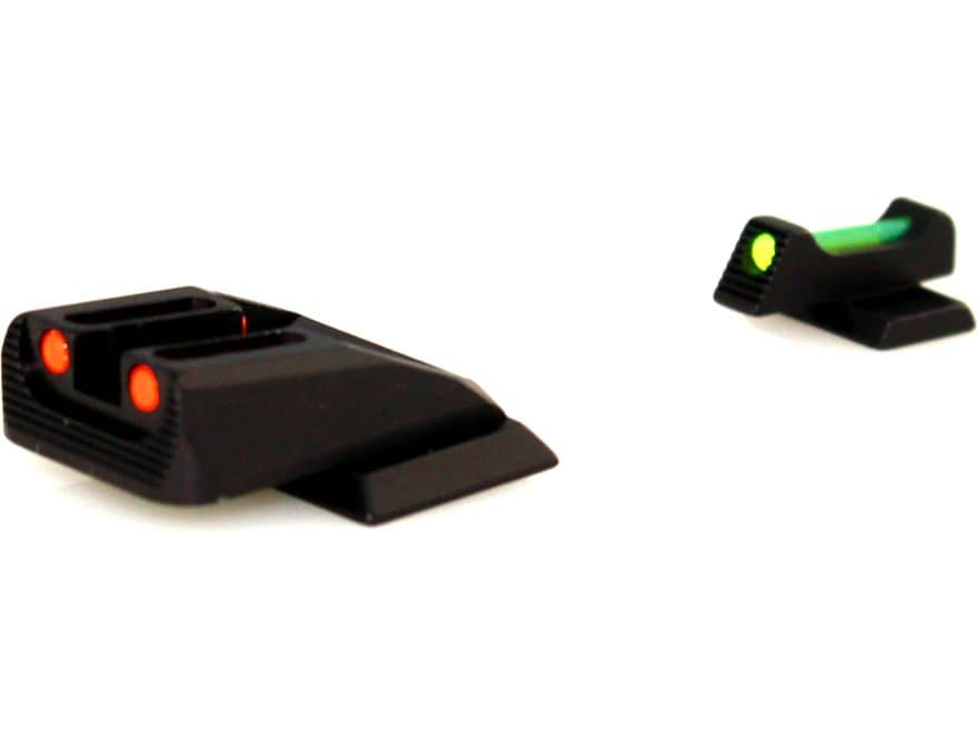 Williams Fire Sight Set S&W M&P Shield, Shield M2.0 Fiber Optic Green Front, Red Rear