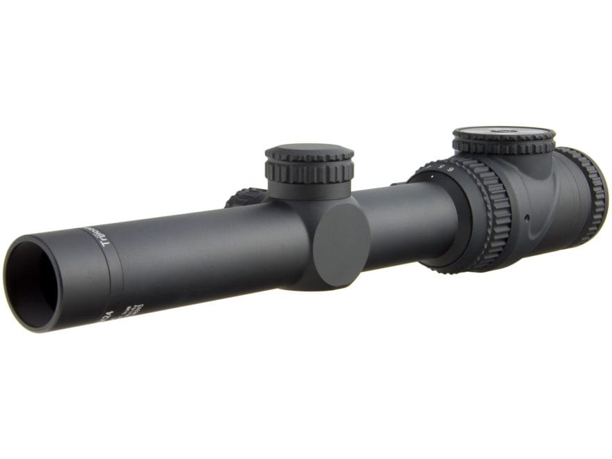 Trijicon AccuPoint Rifle Scope 30mm Tube 1-6x 24mm Illuminated 1/10 Mil Adjustments MIL...