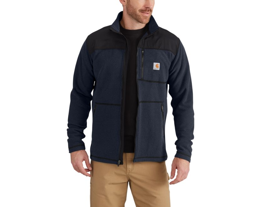 Carhartt Men's Fallon Full Zip Fleece Sweater Polyester