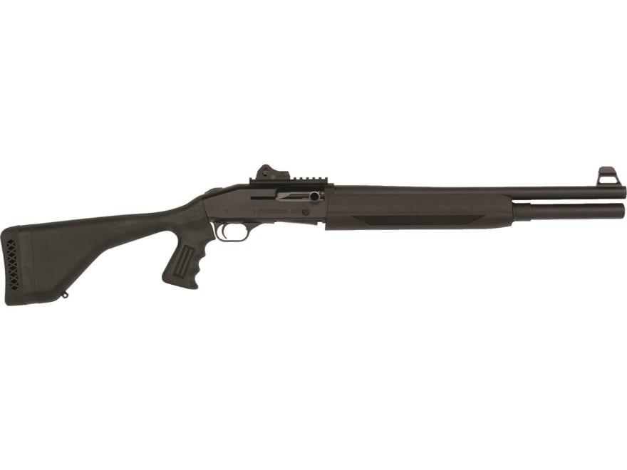 """Mossberg 930 SPX Shotgun 12 Gauge 18.5"""" Barrel Cylinder Bore Ghost Ring Pistol Grip Black"""