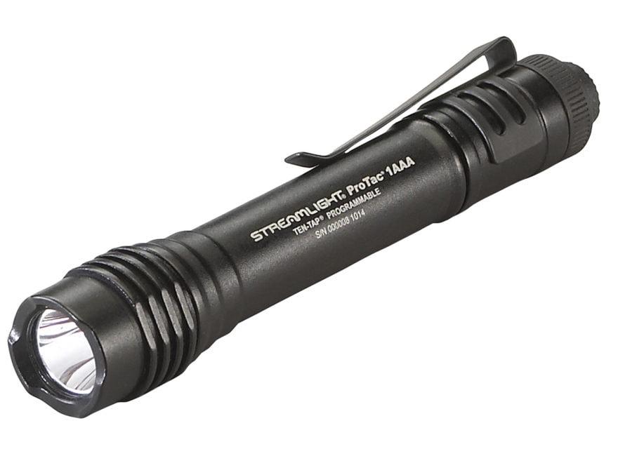 Streamlight ProTac 1AAA Flashlight LED with 1 AAA Battery Aluminum Black