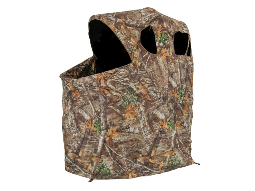 """Ameristep Tent Chair Ground Blind 54"""" x 45"""" x 34"""" Polyester Realtree Edge Camo"""