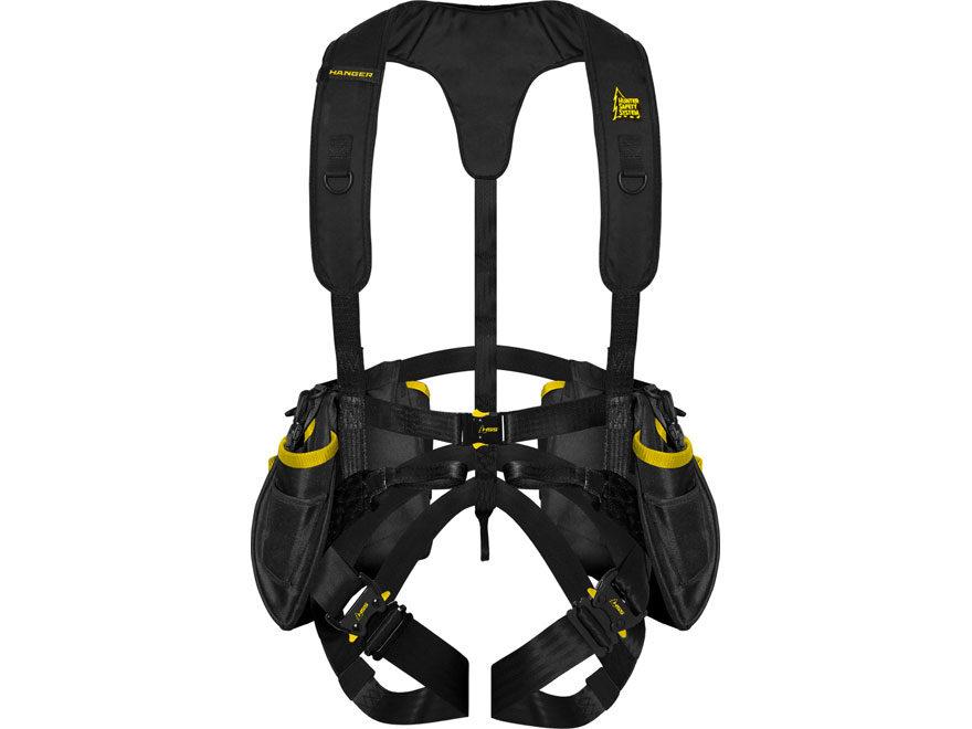 Hunter Safety System Hanger Treestand Safety Harness Black
