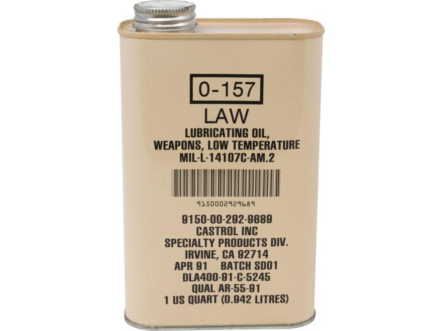 Military Surplus Weapons Lubricating Oil Grade 1 32 oz Liquid