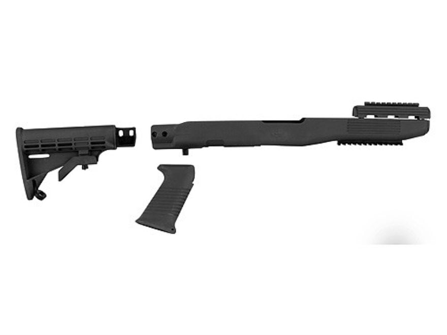 TAPCO Intrafuse Collapsible Rifle Stock System with Rail SKS Synthetic Black