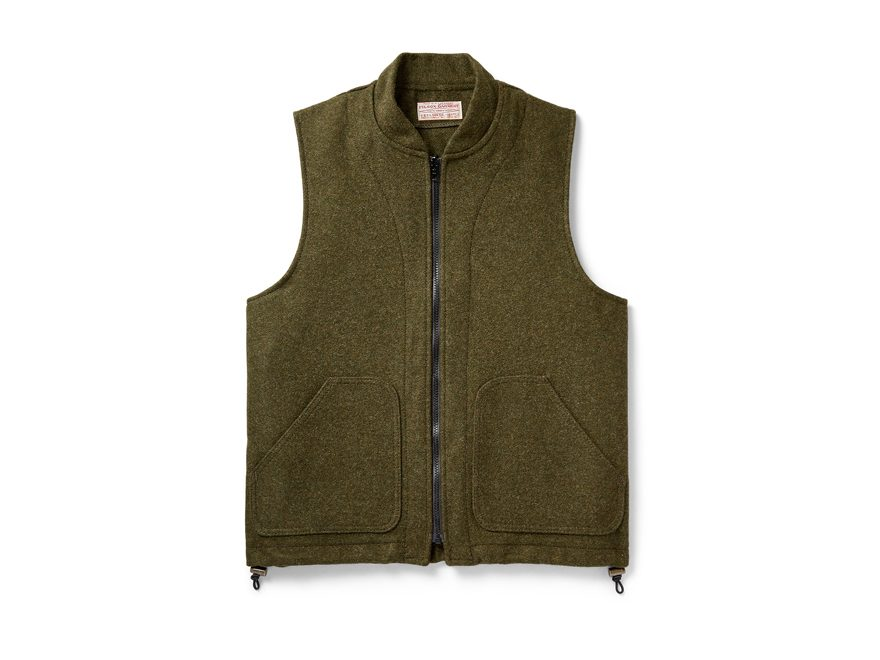 Filson Men's Wool Vest Liner Mackinaw Wool