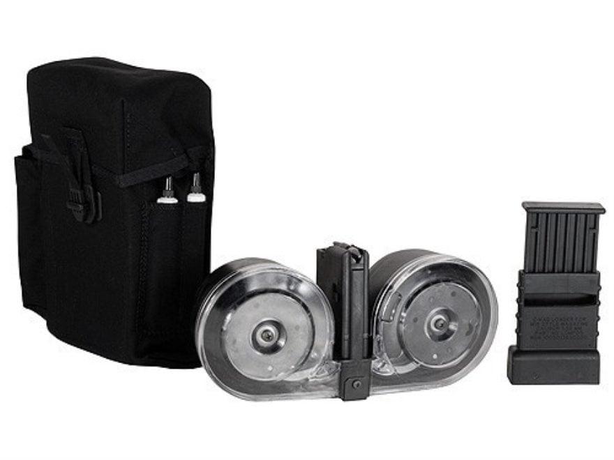 Beta C-Mag Magazine System AR-15 223 Remington, 5.56x45mm 100-Round Drum Polymer Black ...