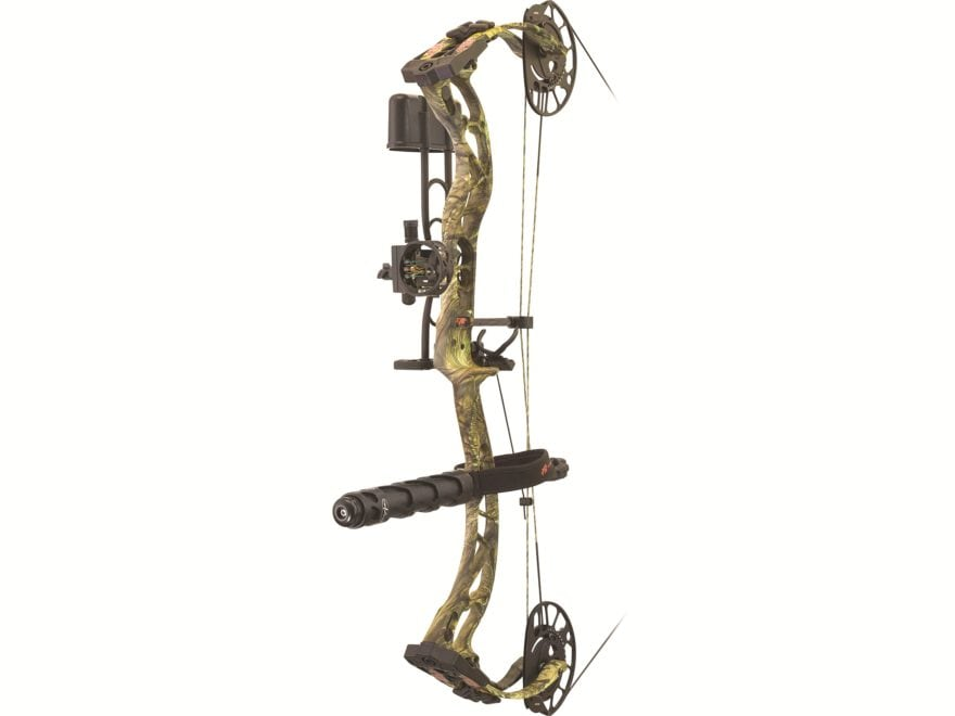 "PSE Ferocity RTS PRO Compound Bow Package Right Hand 70 lb 24.5""-30"" Draw Length Mossy ..."