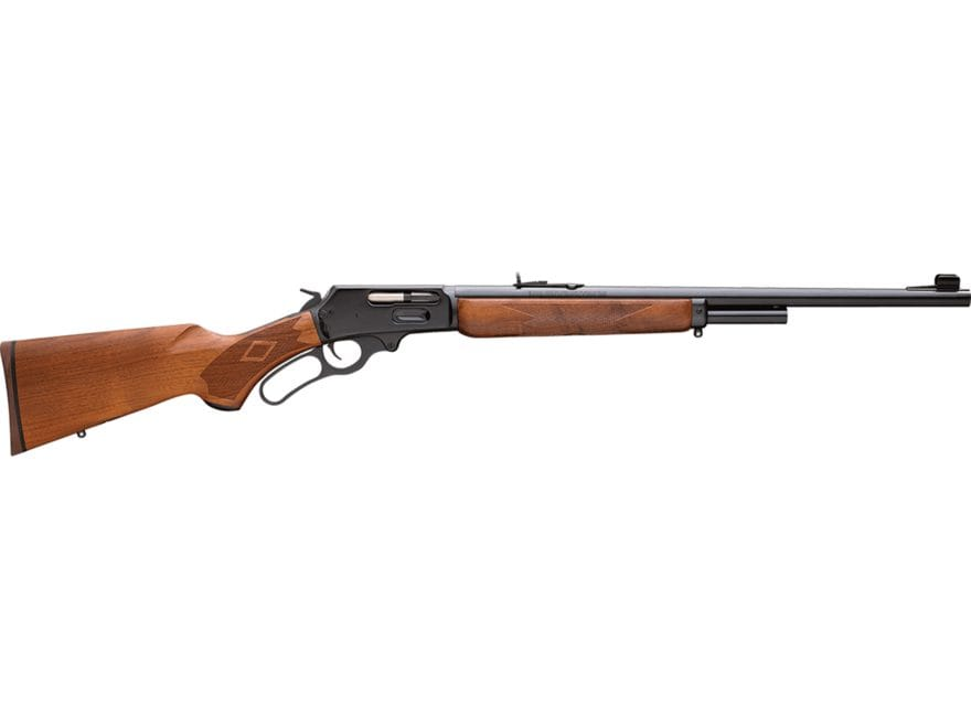 "Marlin 1895 Lever Action Rifle 45-70 Government 22"" Barrel Blue and Walnut"