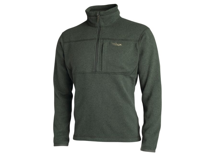 Sitka Gear Men's Fortitude 1/2 Zip Sweater Polartec Polyester