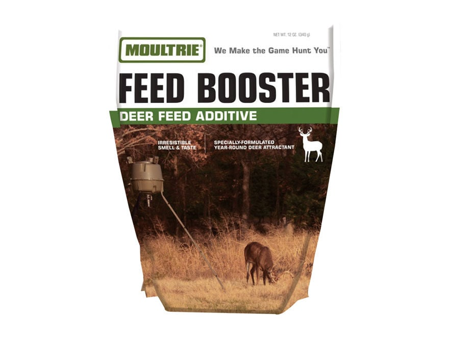Moultrie Feed Booster Feed Additive Deer Supplement 12 oz