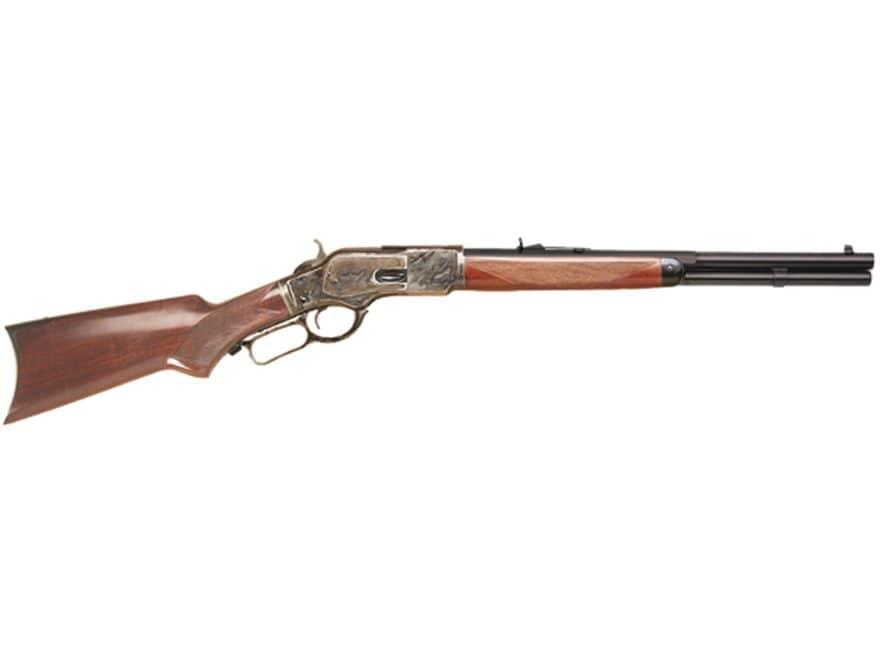 "Cimarron Texas Brush Popper Rifle 18"" Barrel Blue, Walnut Pistol Grip"