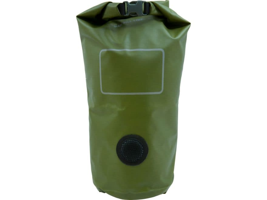 Military Surplus USMC Waterproof Dry Bag Grade 1 9 Liter Olive Drab