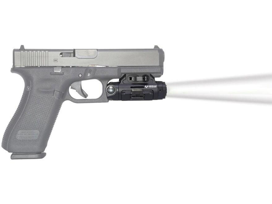 Viridian XTL Gen 3 Weapon Light 500 Lumen with Rechargeable Battery Universal Rail Moun...