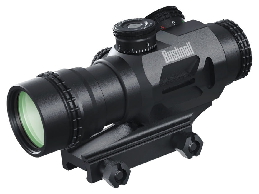 Bushnell AR Optics Accelerate Prism Sight 4x Red and Green Illuminated BTR-3 Reticle wi...