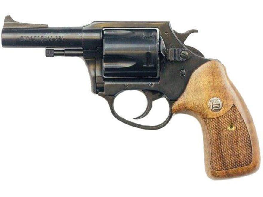 """Charter Arms 34431 Bulldog Classic Revolver 44 Special 3"""" Barrel 5-Round Blue and Wood"""