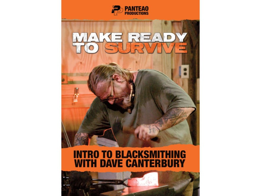 "Panteao ""Make Ready to Survive: Intro to Blacksmithing with Dave Canterbury"" DVD"