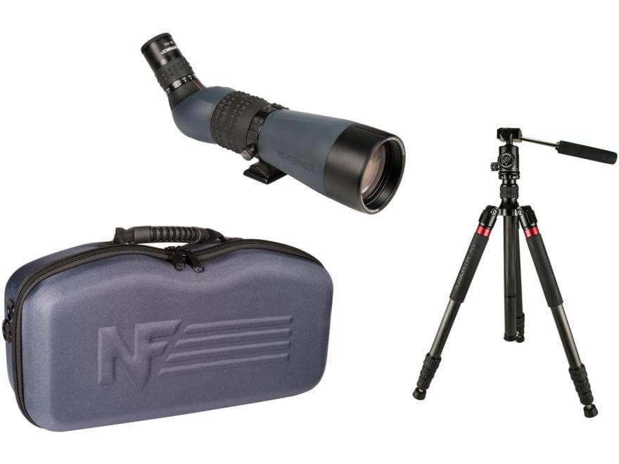 Nightforce TS-82 Xtreme Hi-Def Spotting Scope Kit 20-70x 82mm with Carbon Fiber Tripod ...