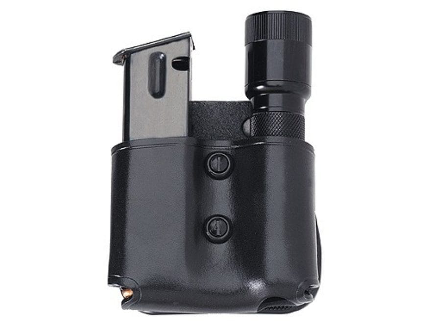 Galco M.F.P. Paddle Single Magazine and Flashlight Pouch Double Stack 9mm, 40 S&W Magaz...