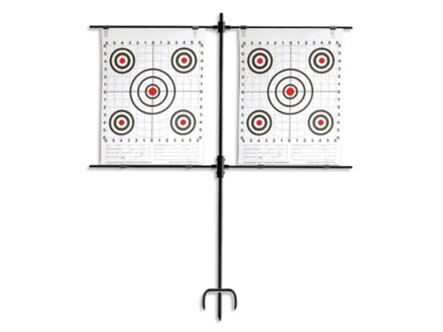 Do All Simple Shot Paper Target Hanger Portable Stand Steel