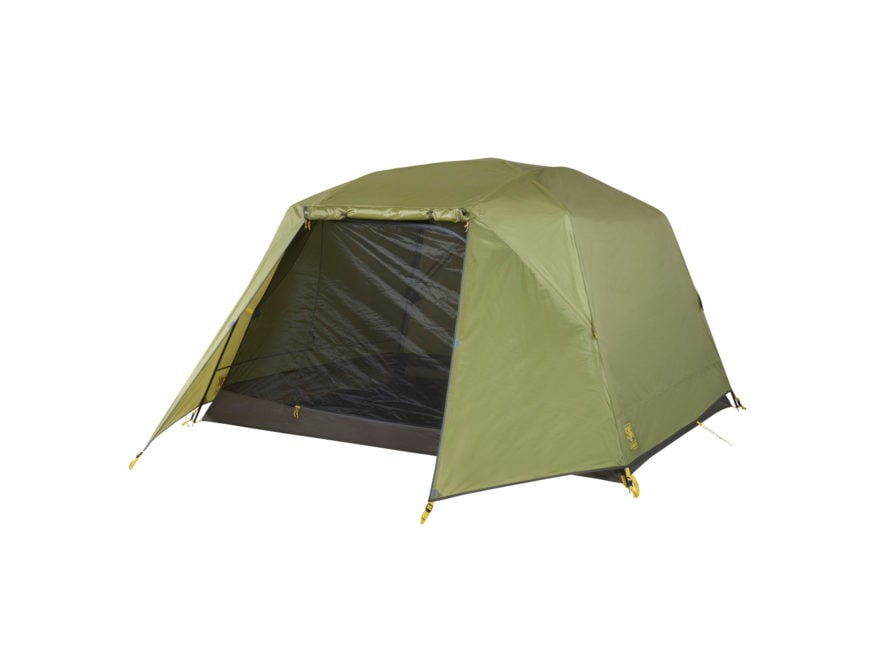 "Slumberjack Roughhouse 4 Person Cabin Tent 89"" x 100"" x 60.5"" Polyester Green"