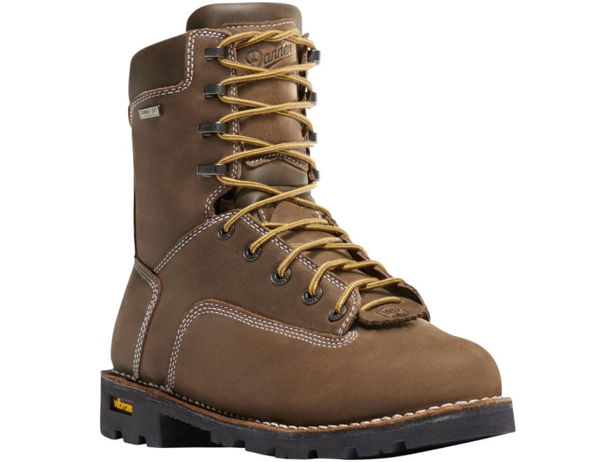 "Danner Gritstone 8"" Waterproof 400 Gram Insulated Non-Metallic Safety Toe Work Boots Le..."