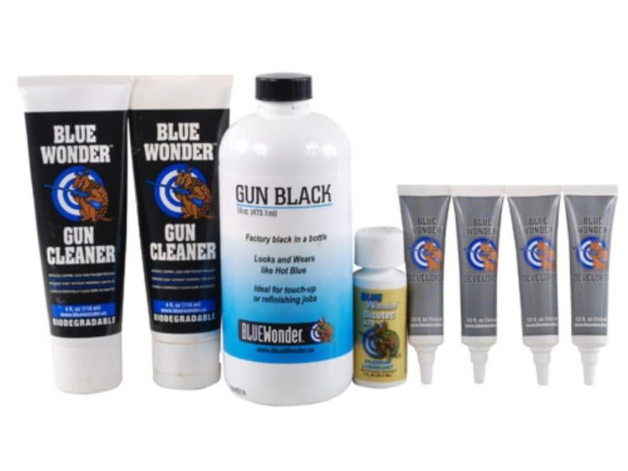 Blue Wonder Gun Black Cold Black 16 oz Kit
