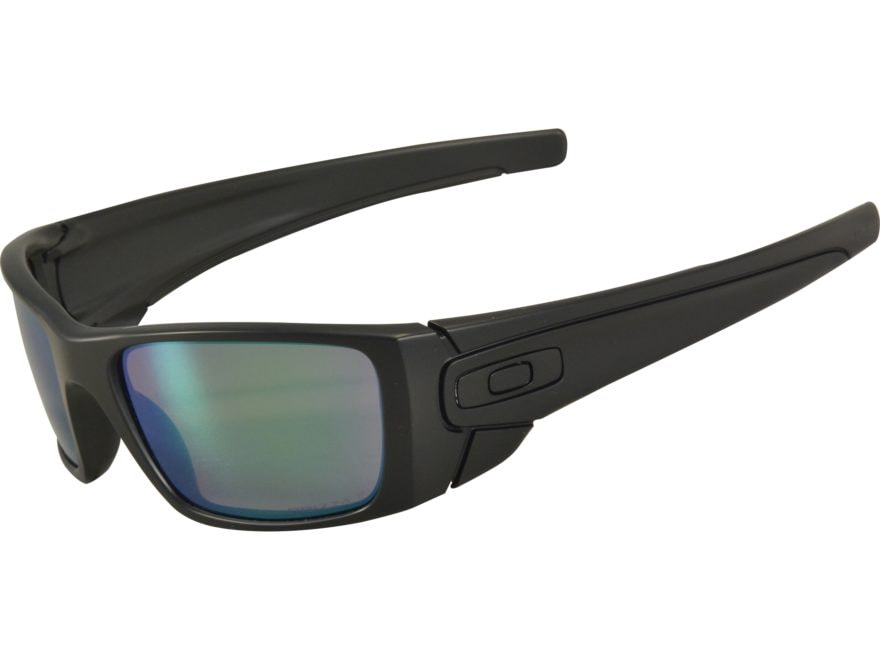 31d9b44d14b Oakley SI Fuel Cell Polarized Sunglasses Matte Black Frame Prizm Maritime  Lens. Alternate Image