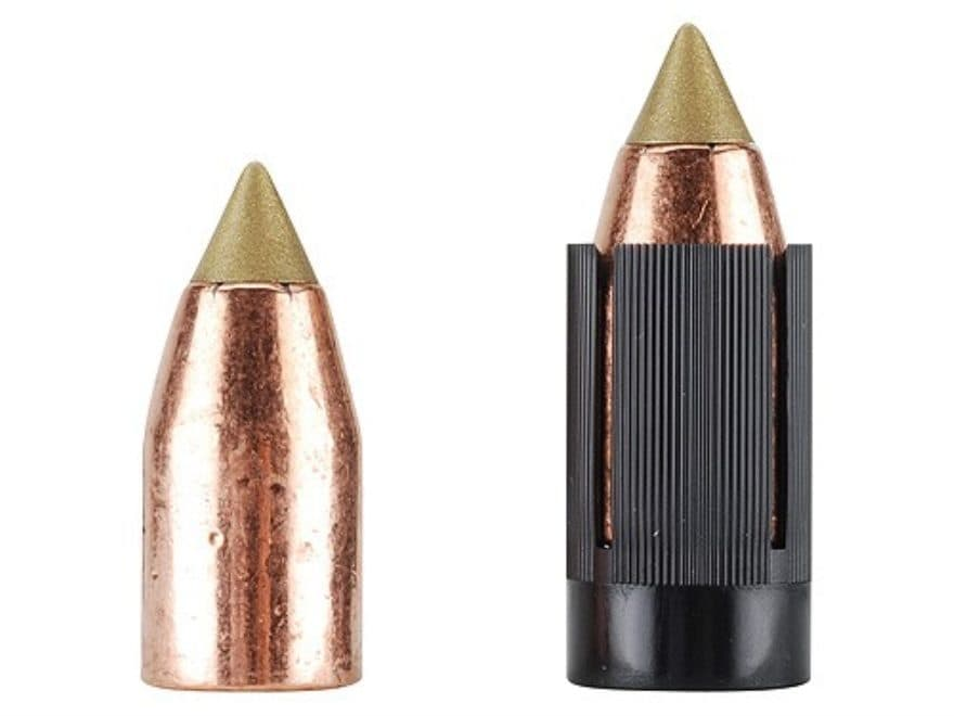 Harvester Muzzleloading Scorpion Bullets 50 Caliber Sabot with 45 Caliber Polymer Tip F...