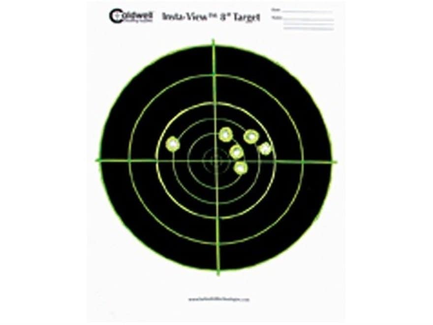 """Caldwell Insta-View Targets 8"""" Round Package of 40"""