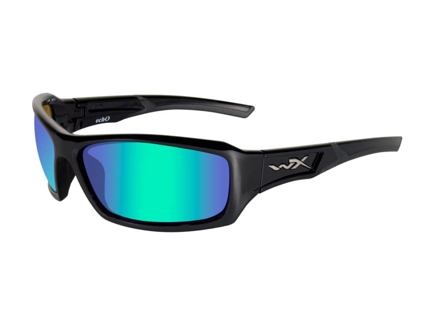 2dcc8d43a8 Wiley X WX Echo Polarized Sunglasses Gloss Black Frame - MPN  CCECH04