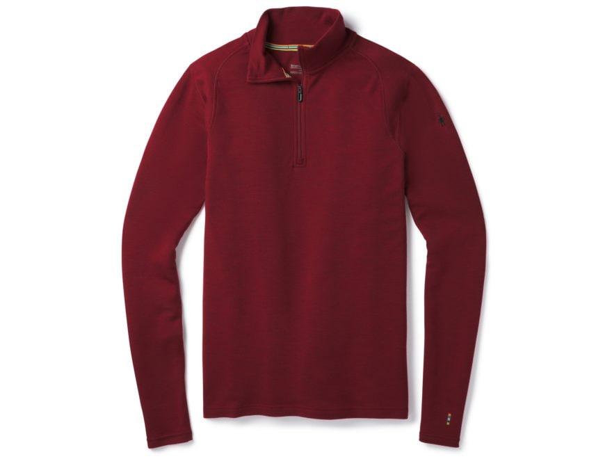 Smartwool Men's Merino 250 Baselayer 1/4 Zip Shirt Long Sleeve Merino Wool