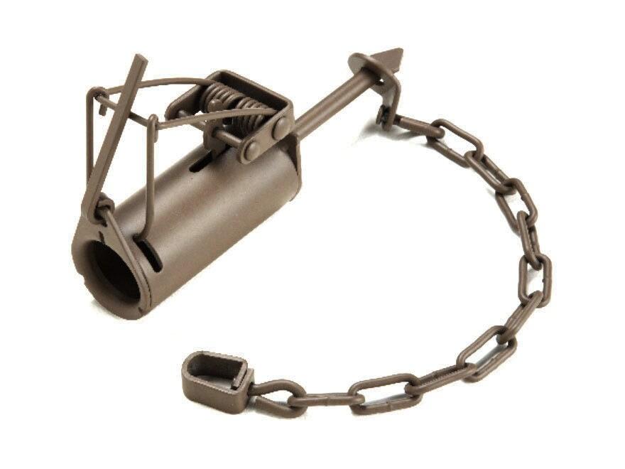 Duke DP Coon Trap Steel Silver
