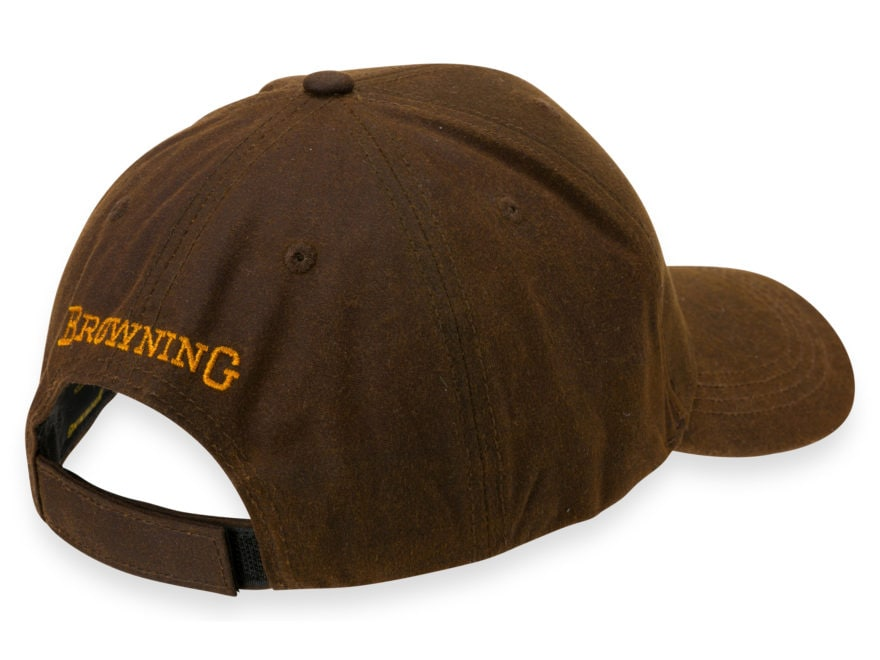 huge selection of 1173d f94e0 ... sale browning mens dura wax 3 d buckmark cap cotton brown mpn 308412881  5f982 f7ea2