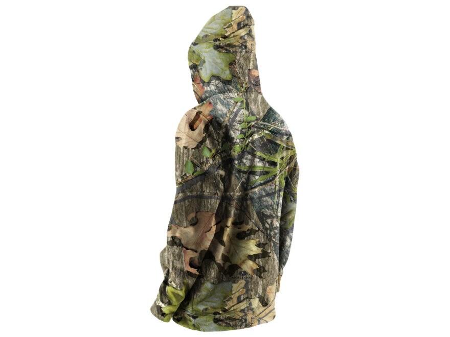 000adbbcbfd3e Nomad Men's NWTF Logo Hoodie Polyester Mossy Oak Bottomland Camo