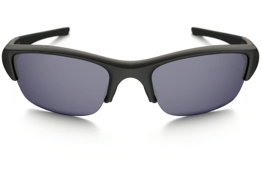 c17e91574c8cb Oakley SI Flak Jacket Sunglasses Matte Black Frame Gray Lens