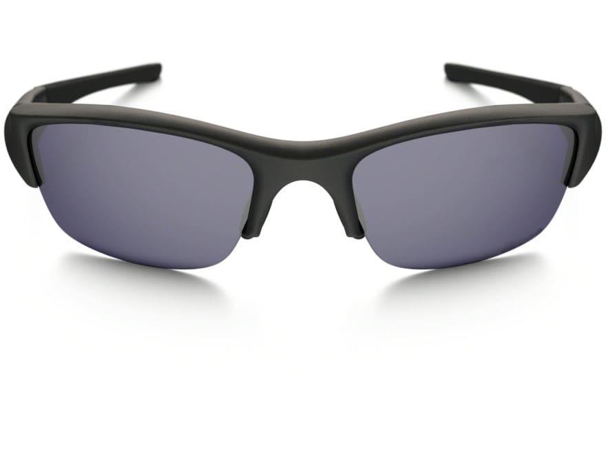 ba078c57e8c55 Oakley SI Flak Jacket Sunglasses Matte Black Frame Gray Lens
