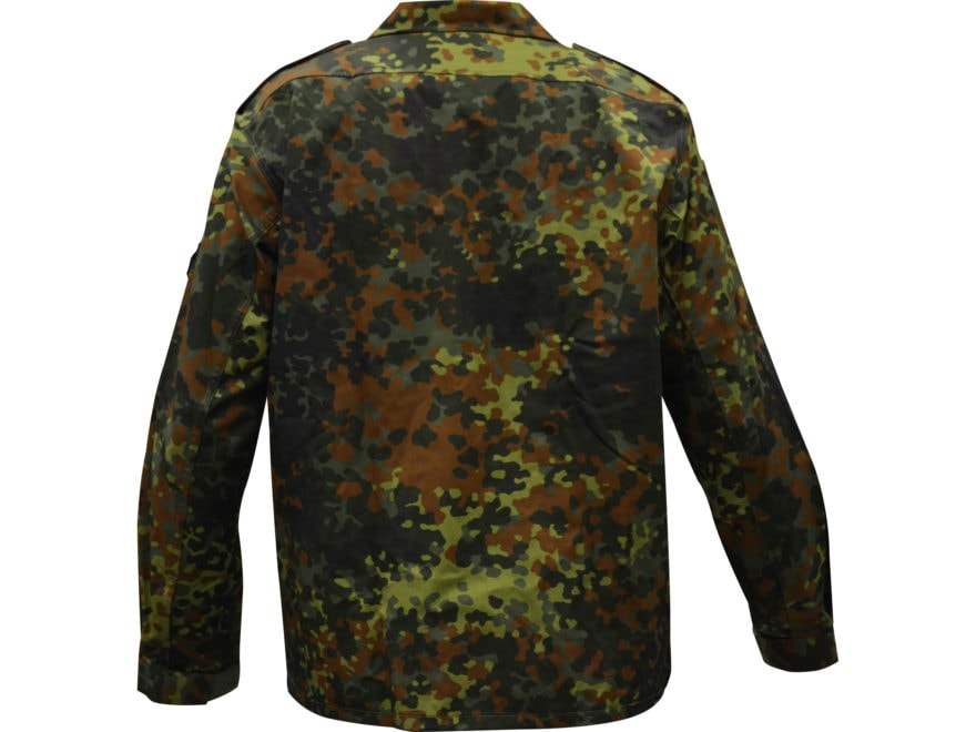 6e78593e57c5f Military Surplus German Flecktarn Camo Field Shirt. Alternate Image;  Alternate Image