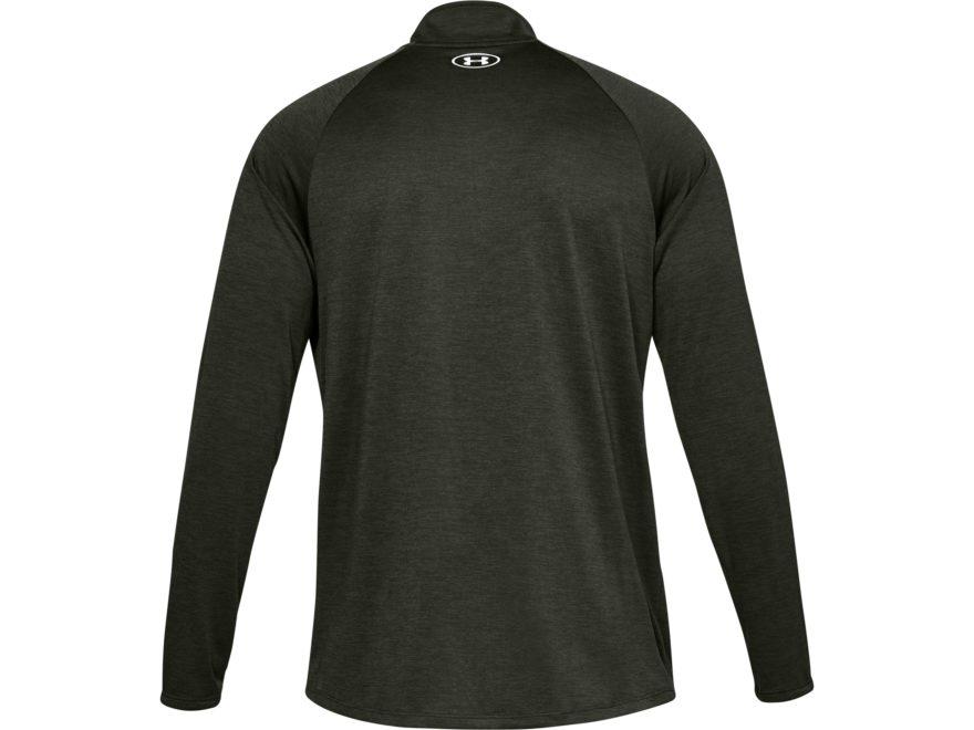 0d1d26693 Under Armour Men's UA Tech 2.0 1/4 Zip Long Sleeve Shirt Polyester