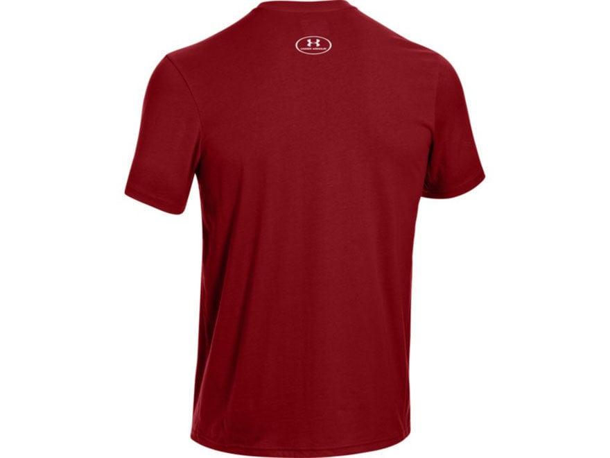a04d8506c Under Armour Men's Antler Logo T-Shirt Short Sleeve Cotton and Polyester  Blend. Alternate Image; Alternate Image
