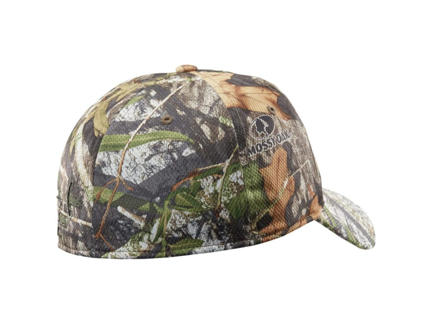 6155ffe89a7 Under Armour UA Camo Turkey Trax Stretchfit Cap Polyester Mossy Oak  Obsession Camo. Alternate Image  Alternate Image