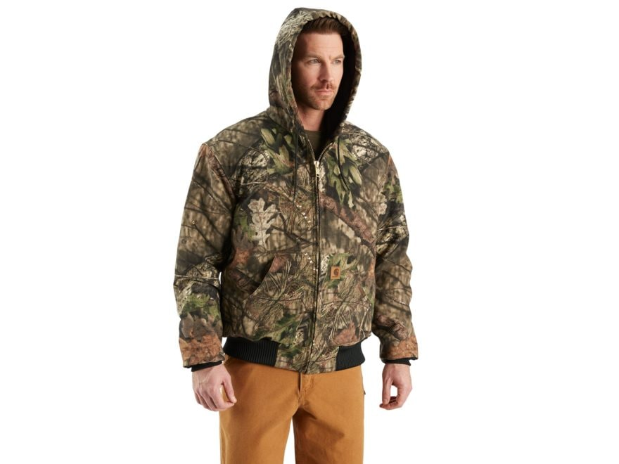 c7a36843d8cb7 Carhartt Men's Quilt-Flannel-Lined Camo Active Heavyweight Jacket Cotton.  Alternate Image; Alternate Image ...