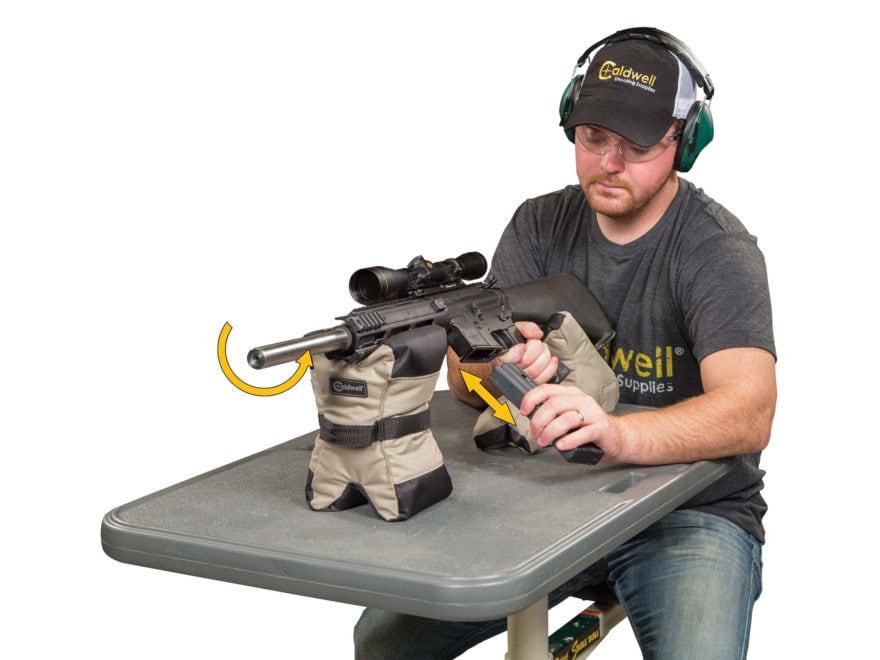 Caldwell AR Tactical DeadShot Front and Rear Shooting Rest Bag Set Nylon  Filled. Alternate Image  Alternate Image ... 4672cacea23