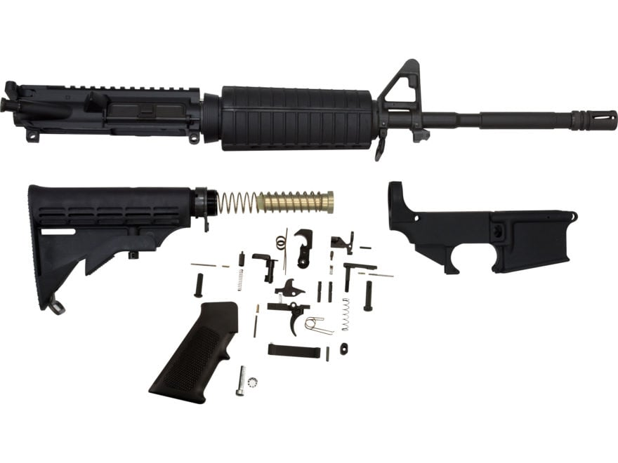 AR15 Complete Rifle Kit with 80 Lower t