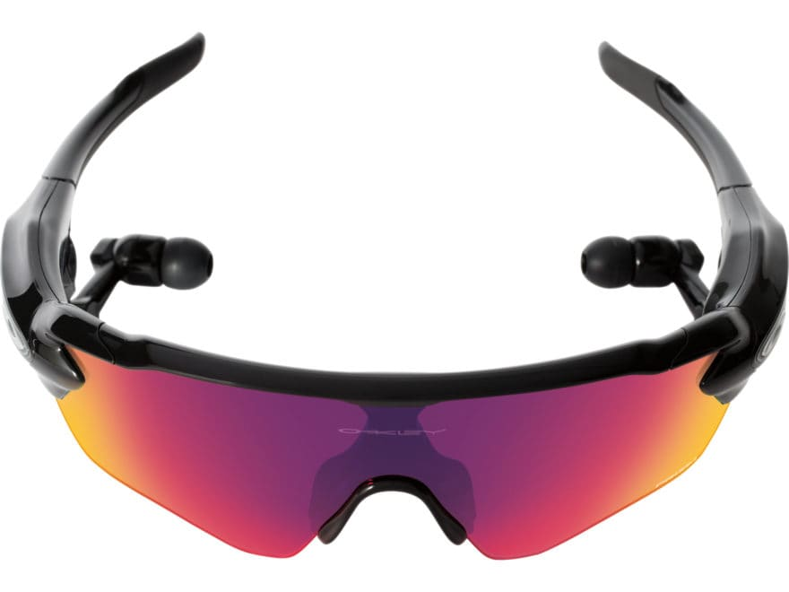 f28d1a0b6fd8 Oakley Radar Pace Polarized Sunglasses Polished Black Frame Prizm Road and Clear  Lenses. Alternate Image  Alternate Image ...