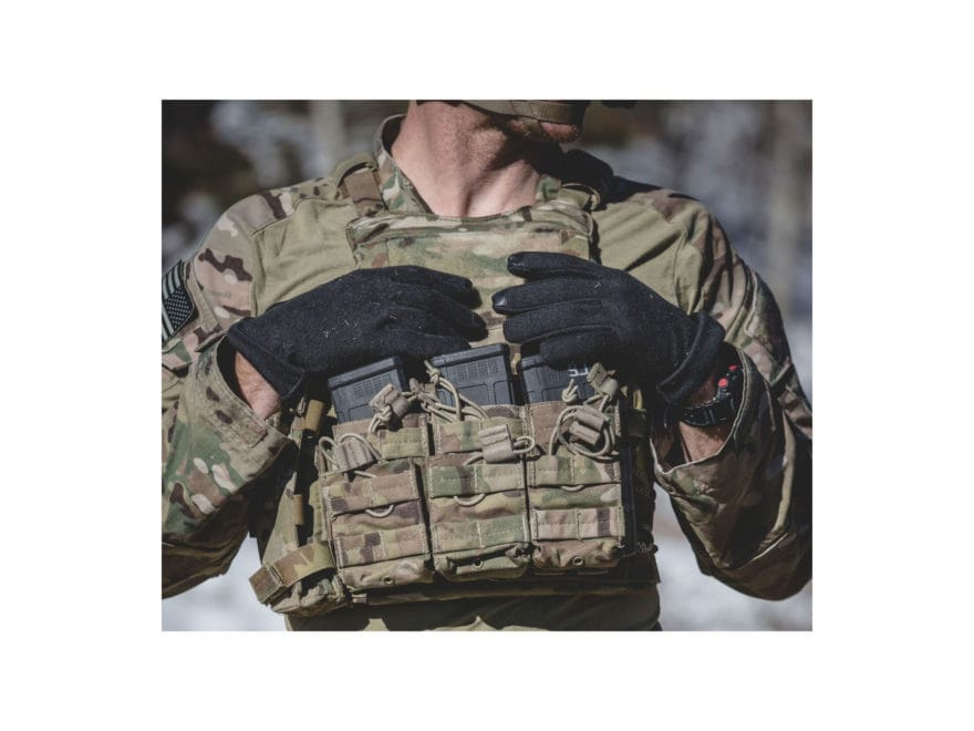 c05961dd300 Magpul Core Flight Gloves Leather Nomex Black Medium