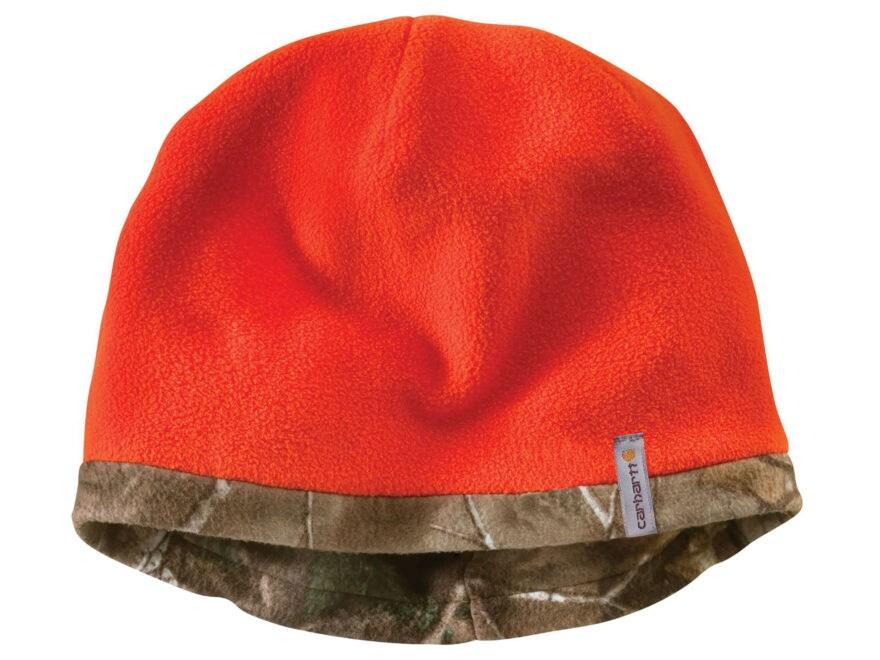 3a093340c Carhartt Force Swifton Reversible Beanie Realtree Xtra Camo/Blaze Orange