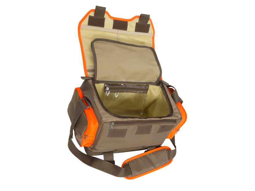eb6488b810c8 Banded Upland Hunting Bag Brown and Blaze Orange. Alternate Image   Alternate Image  Alternate Image
