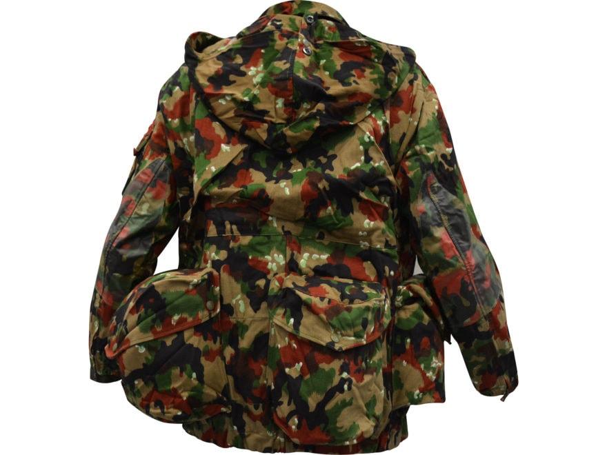 ad43cf33ddf1a Military Surplus Swiss M70 Field Jacket Swiss Camo. Alternate Image;  Alternate Image; Alternate Image